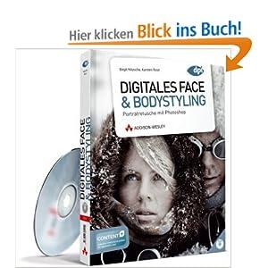 eBook Cover für  Digitales Face amp Bodystyling Portr auml tretusche mit Photoshop