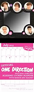 One Direction 2013-14 Academic Locker Calendar from BrownTrout Publishers