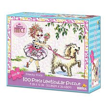 Fancy Nancy 100-Piece Lenticular Puzzle - Frenchy Frolic - 1