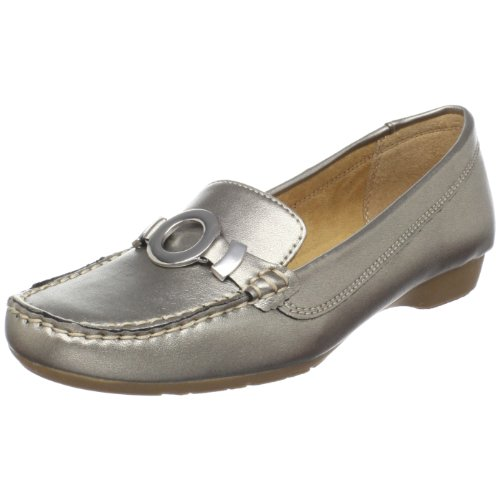 Naturalizer Women's Gabina Slip-On Loafer,Metallic,7.5 M US