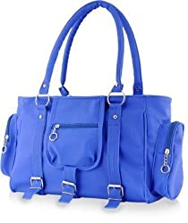 Deal Especial Women's/Girl's Handbag (Blue,DE_FHB_185)