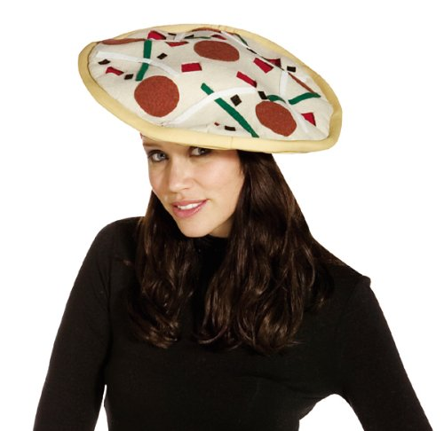 Adult Deluxe Pizza Hat