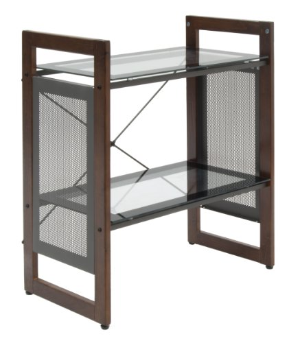 Calico Designs Office Line Bookshelf In Sonoma Brown 56004
