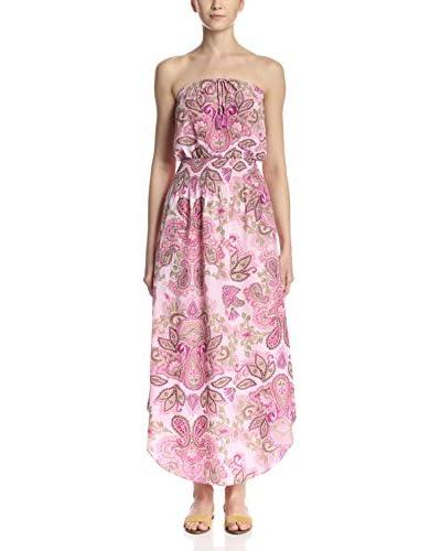 CALYPSO ST. BARTH Women's Leopla Printed Dress  [Pink]