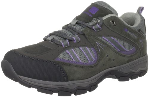 Karrimor Women's Snowdonia Low Weathertite Fog/Purple Dawn Walking Shoe K485FPD147 5 UK