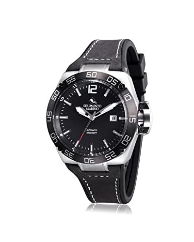 Strumento Marino Men's Black SM104L/SS/NR/NR Watch