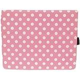 Kyasi London All Business-iPad Case for iPad 2,3 or 4 Cha Cha Pink Polka Dots