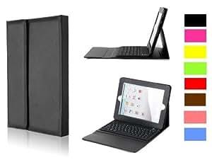 iPad 2 ipad2 & New ipad 3 Bluetooth Keyboard with Executive PU Leather Case