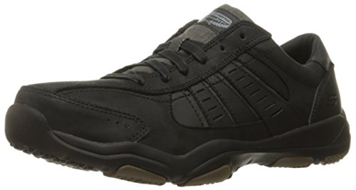 skechers-larson-nerick-zapatillas-para-hombre-negro-blk-42-eu