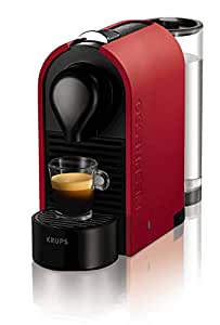 Nespresso U Matt Coffee Machines by Krups - Red