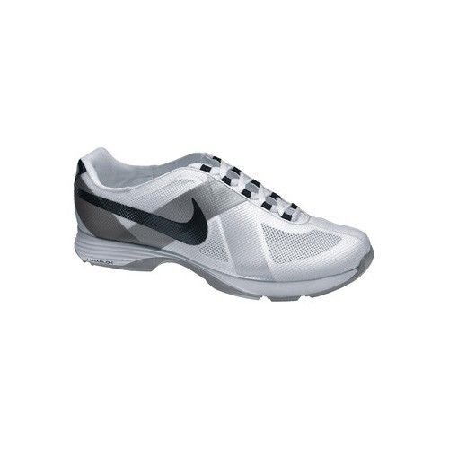 Nike Golf Women's Lunar Summer Lite Golf Shoe,White/Black Metallic Silver,5 M US