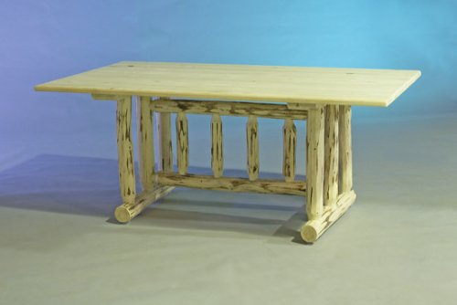 Log Furniture - Dining Table - Free Shipping