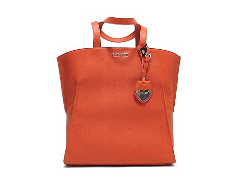Twin Set borsa donna, linea Shopping AS67GC, borsa a spalla in ecopelle , colore arancio