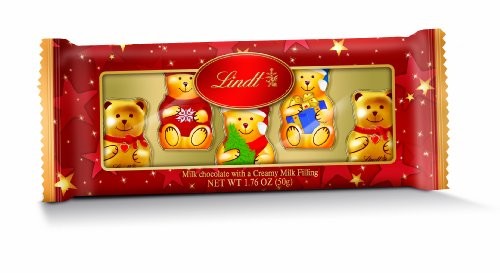 Lindt Chocolate, Teddy Bear and Friends, 1.7-Ounce