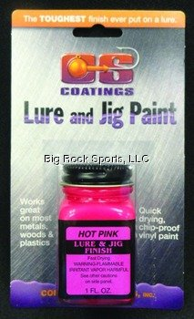 Component Systems Vinyl Lure and Jig Paint, Hot Pink (Cs Jig Paint compare prices)