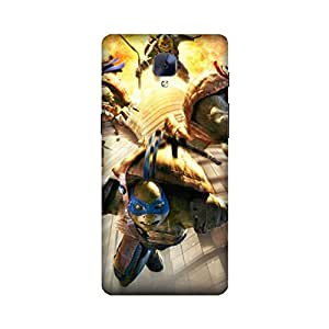 Printrose Oneplus 3 back cover High Quality Designer Case and Covers for Oneplus 3 NINJA