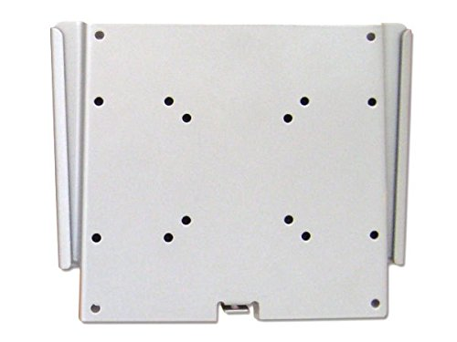 WANDHALTERUNG - 17 18 19 20 21 22 24 26 28 30 31 32 37 ZOLL - LED/LCD/PLASMA 3D FULL-HD TV (passt für SAMSUNG LG SONY PANASONIC PHILIPS SHARP TOSHIBA ORION MEDION) - FLACH/FEST/STARR (VESA 75x75 100x100 200x200) - SILBER - Modell: L72