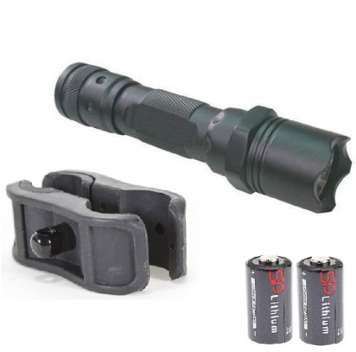 Ultimate Arms Gear 130+ Lumens L.E.D Flashlight