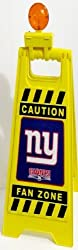 New York Giants Fan Zone Man Cave Team Room Flashing Floor Sign
