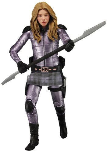 "NECA Series 2 Kick Ass 2 Hit Girl Unmasked 7"" Scale Action Figure"