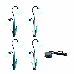 Click to buy LED Outdoor Lighting: Westinghouse Double Calla Lily HI-Intensity Aluminum LED Landscape Lighting Set from Amazon!