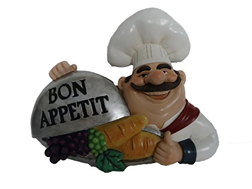Bon Appetit Fat Chef Kitchen Wall Art Hanging Bistro Cooking D64277 (Fat Chef Kitchen Wall Art compare prices)