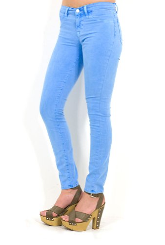 SALE J Brand 811 Mid Rise Skinny in Neon Blue Blue 26