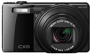 RICOH デジタルカメラ CX6ブラック CX6-BK