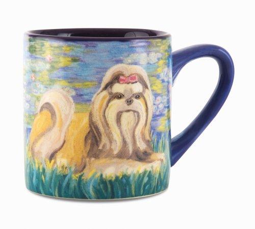 Paw Palettes Shih Tzu Bonet Ceramic Mug, 16-Ounce front-153960