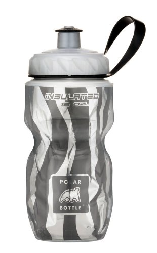 Polar Bottle Insulated Water Bottle (12-Ounce) (Zebra) (Polar Sport Bottle compare prices)