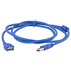Adnet USB EXT. USB Extension Cable Blue
