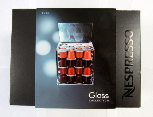Nespresso Capsule Holder for 50 Capsules Cube (Nespresso Capsules Dispenser compare prices)