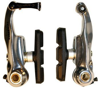 Buy Low Price Tektro Mini Linear-Pull Brake 80mm Arms Front or Rear Silver (B000ALD4T8)