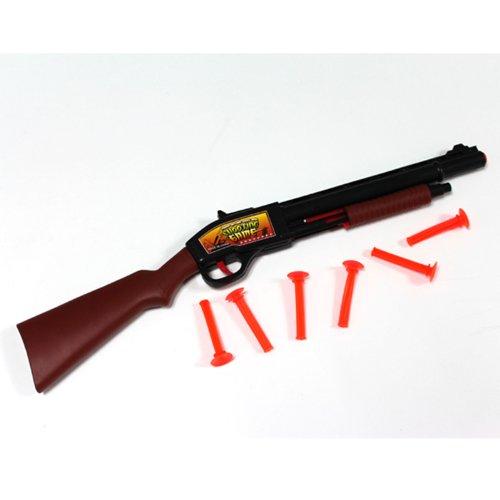 Sale!! Kids Airsoft Dart Gun Rifle, New Pump Gun Suction Cup Safety 6 Bullets Rifle Cap Kids Toy Dar...