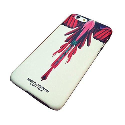 (マルセロバーロン) MARCELO BURLON iPhone6/6S ケース iPhone6 Plus スマホケース カバー iPhone6用ケース カバー (iphone6/6s, 01) [並行輸入品]