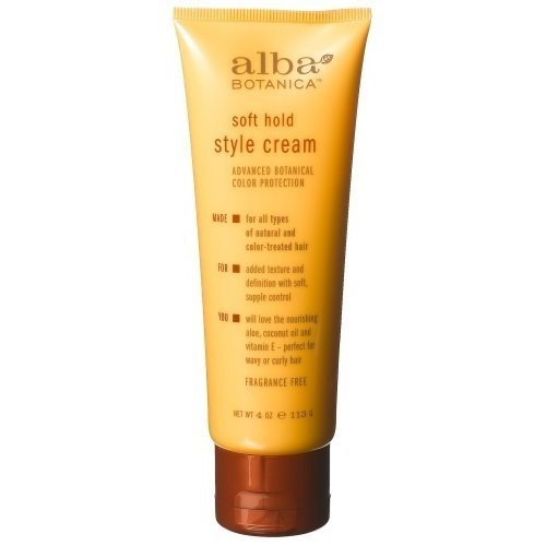 Alba Botanica Soft Hold Style Cream, 4-Ounce (Pack Of 3)