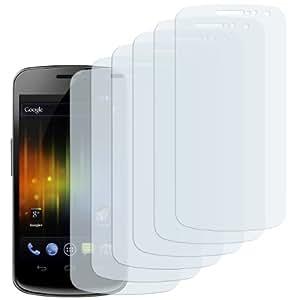 6 x mumbi Displayschutzfolie Samsung Galaxy Nexus i9250 Displayschutz CrystalClear unsichtbar