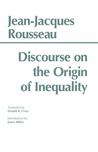 Discourse on the Origin of Inequality (Hackett Classics)
