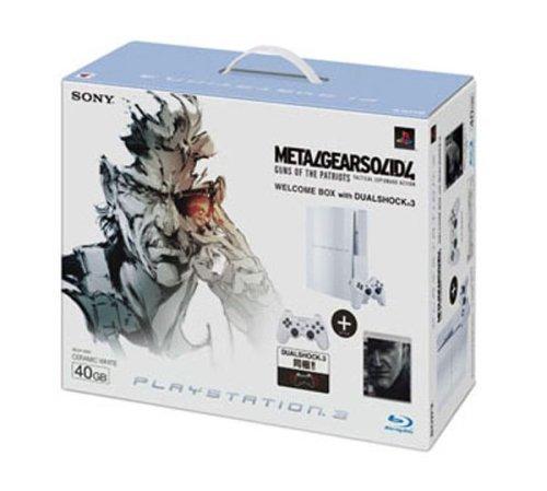PLAYSTATION 3(40GB) メタルギア ソリッド 4  ガンズ・オブ・ザ・パトリオット WELCOME BOX with DUALSHOCK 3 セラミック・ホワイト
