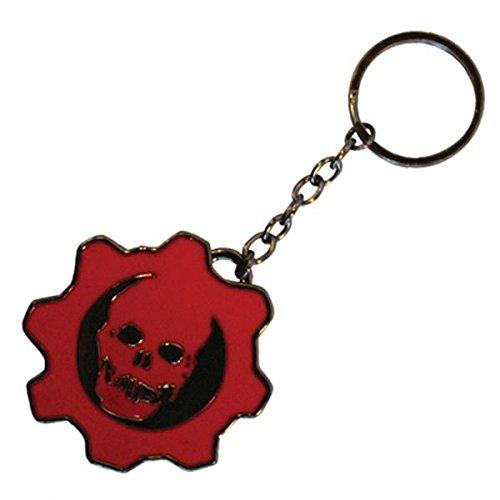 Gears of War 3 Diecast-Keychain Logo