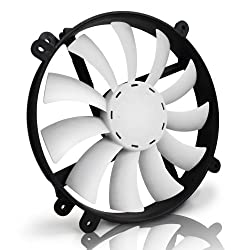 NZXT 200MM Silent 700 rpm LED Fan - FS-200RB-BLED (Blue)