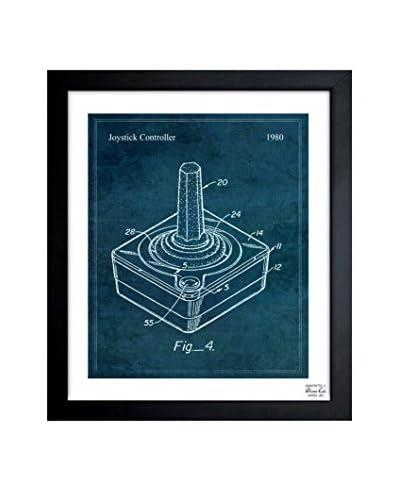 Oliver Gal Joystick Controller 1980 Framed Art