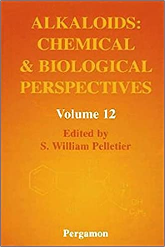 Alkaloids: Chemical and Biological Perspectives, Volume 12, Volume 12