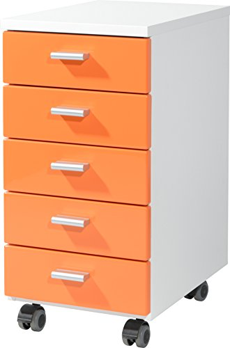 Germania-4099-182-Rollcontainer-4099-28-x-57-x-40-cm-wei-orange