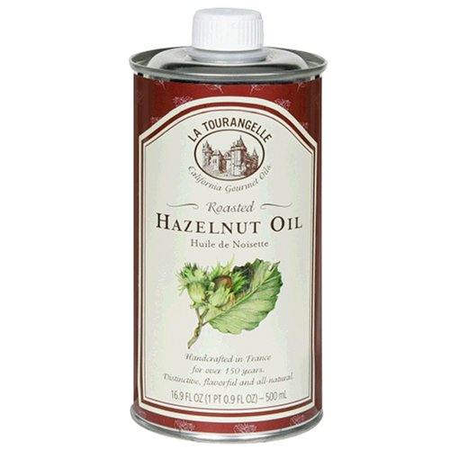 La Tourangelle Roasted Hazelnut Oil, 16.9-Ounce Unit (Pack of 3)