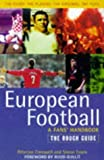 img - for European Football: The Rough Guide (Rough Guides) book / textbook / text book