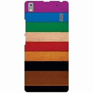 Lenovo A7000 PA030023IN Back Cover - Color Pattern Designer Cases