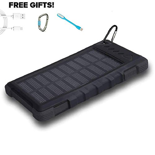 Top 5 Best solar power bank for sale 2016 : Product : BOOMSbeat