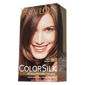 revlon colorsilk beautiful color light brown