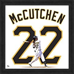 Andrew McCutchen Pittsburgh Pirates 20x20 Framed Uniframe Jersey Photo by Biggsports